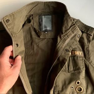 Advocate Nature Gentleman Military Jacket